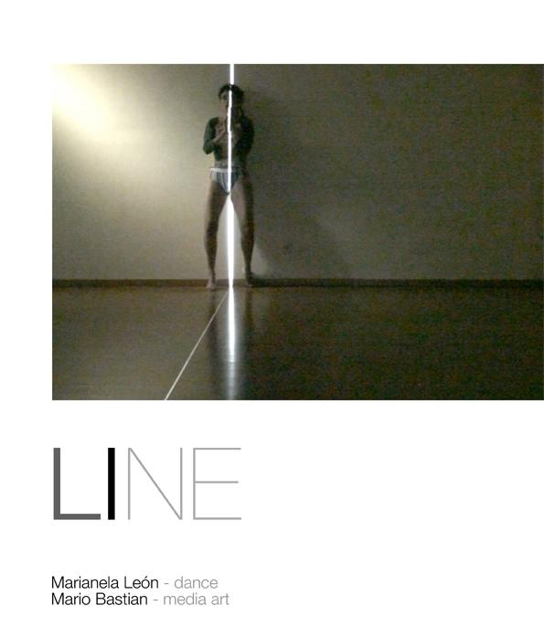 Pieza interactiva LINE - Marianela León y Mario Bastian